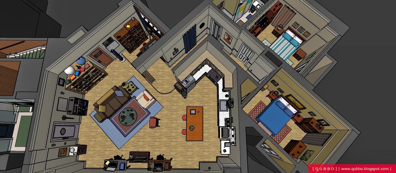 The Big Bang Theory Apartments Img 183 001 Qubbo